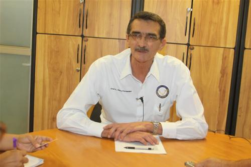 Jose Suarez, Secretario de Gestion Escolar.