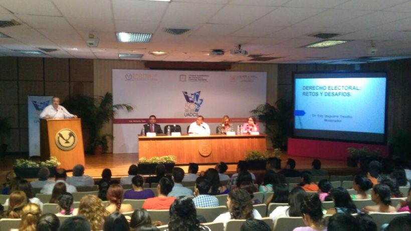 Inaugura Rector Ciclo de Conferencias