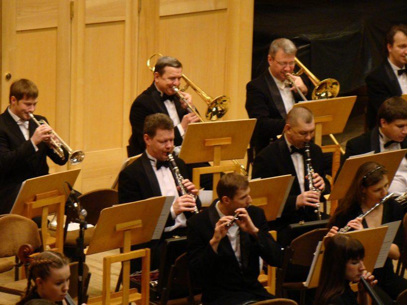 Concierto de la Orquesta Sinfónica.