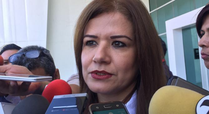 Omeheira López Reyna, Directora del DIF Tamaulipas.