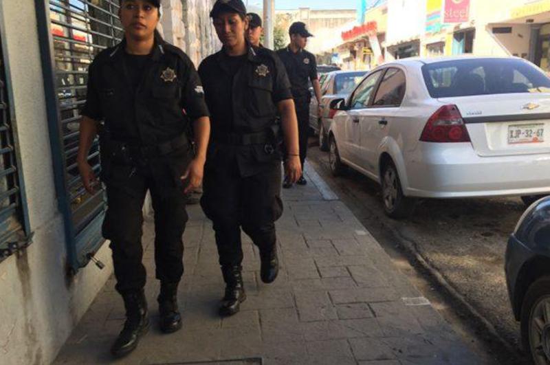 Policia de proximidad en la ciudad