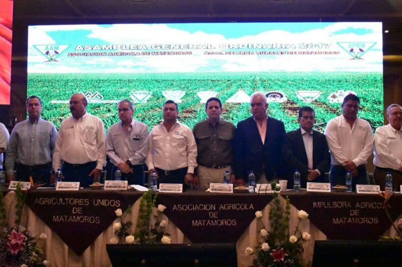 Se reúnen productores del norte de Tamaulipas