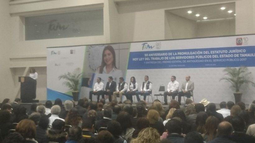 Administración estatal reconoció el trabajo de servidores públicos de Tamaulipas