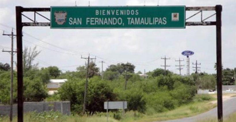 Entrada a San Fernando, Tamaulipas