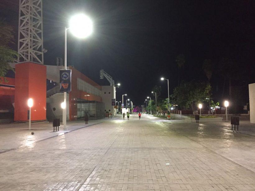 Unidad deportiva en Ciudad Victoria