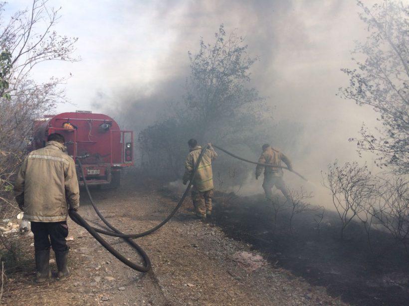 Se rompe record de incendios en la capital tamaulipeca
