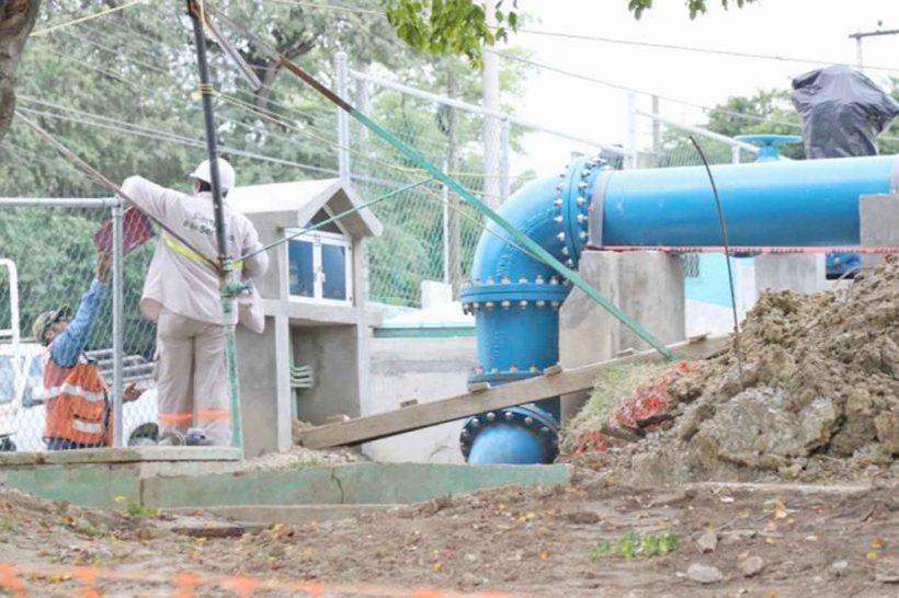 Planta potabilizadora de agua en Tamaulipas