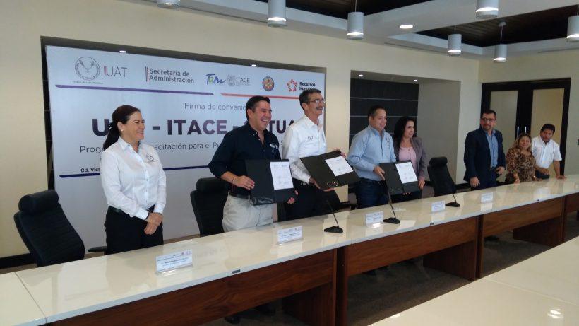 Signan Convenio de Colaboración UAT-ITACE