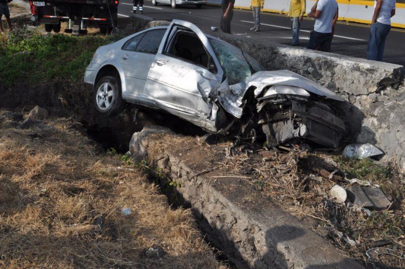 Accidente en el municipio de Gonzalez