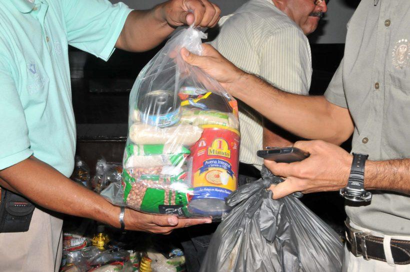 Continúa la entrega de despensas en Tamaulipas