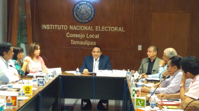 Inicia INE conteo distrital en Tamaulipas
