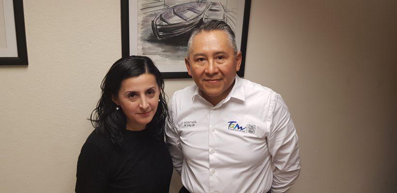Doctora Erika Luna y doctor Ariel Mercado