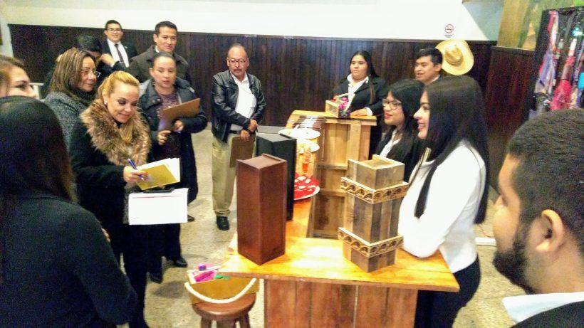 Alumnos presentan Tamaulipas exporta