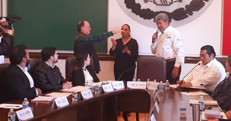 Continua en su cargo Ramos Aguirre, Cronista de Victoria