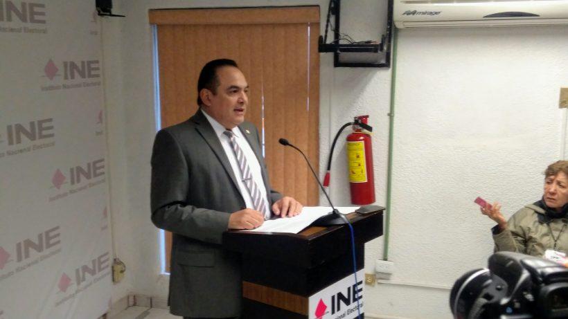Anuncia vocal ejecutivo del INE cambio de adscripción