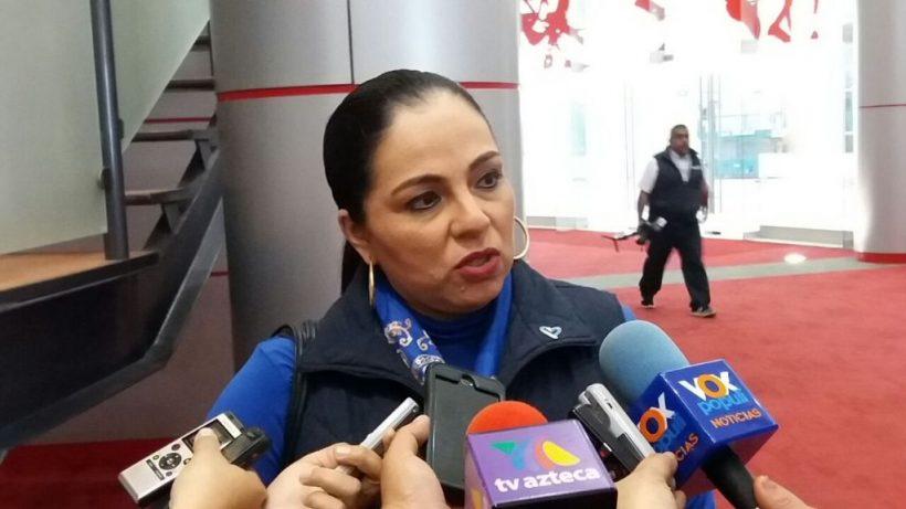 Olivia Lemus, presidenta de la CODHET