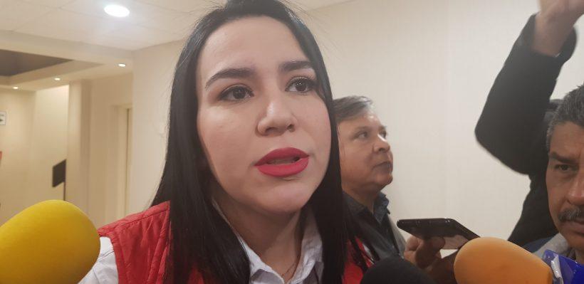 Abdala Carmona, presidenta del PRI en Tamaulipas