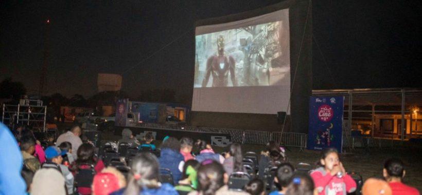 Proyeccion cinematografica en el Municipio de Gonzalez