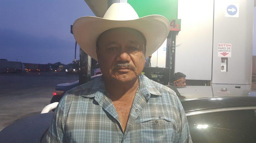 Raul Garcia Vallejo, lider de la CNC en Tamaulipas.