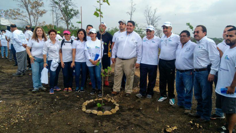 se suma la UAT a reforestación ambiental